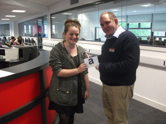 Freshers Fair Stationery Competition Winner