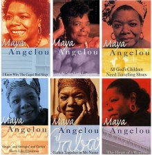 Maya Angelou book covers