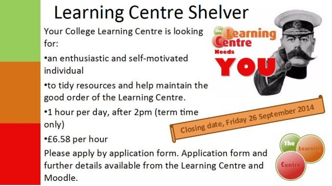 LC Shelver Advert