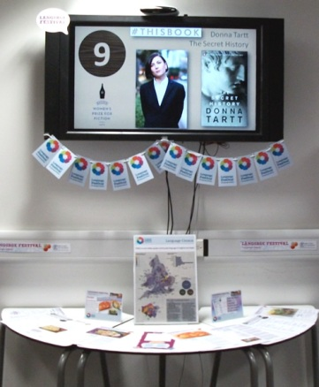 Language Festival display