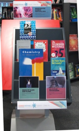 Manchester Science Festival display