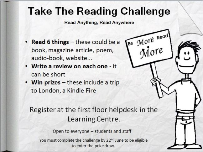 Reading Challenge poster