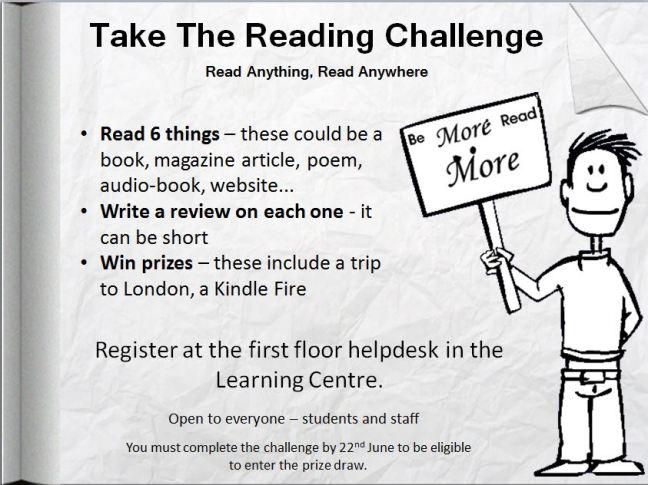 Reading Challenge poster
