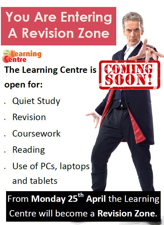poster for revision zone