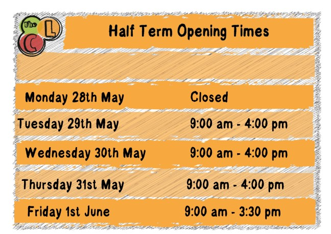 May 2018 half term opening