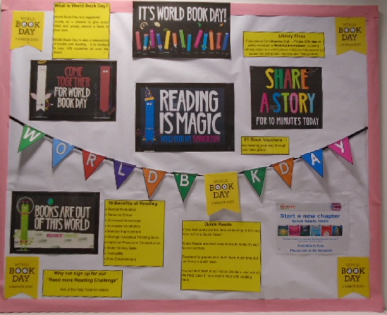 Display for World book day 5th March