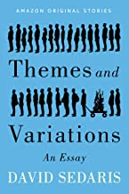 Book cover for 'Themes and variations' by David Sedaris