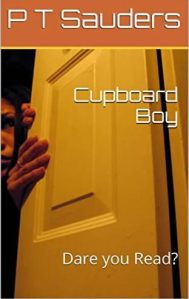 Book cover for 'Cupboard boy' by P T Saunders
