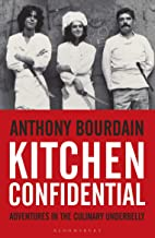 Book cover 'Kitchen confidential' by Anthony Bourdain