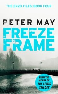 Book cover 'Freeze frame' by Peter May
