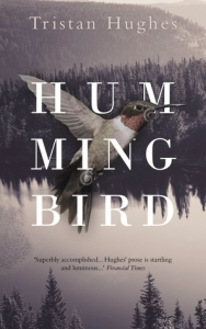 Book cover 'Humming bird' by Tristan Hughes