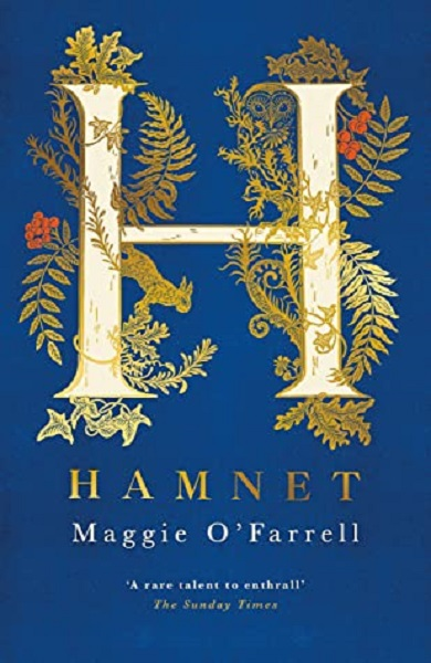 Book cover of Hanmet by Maggie O'Farrell the winner of the Women's Prize for Fiction 2020