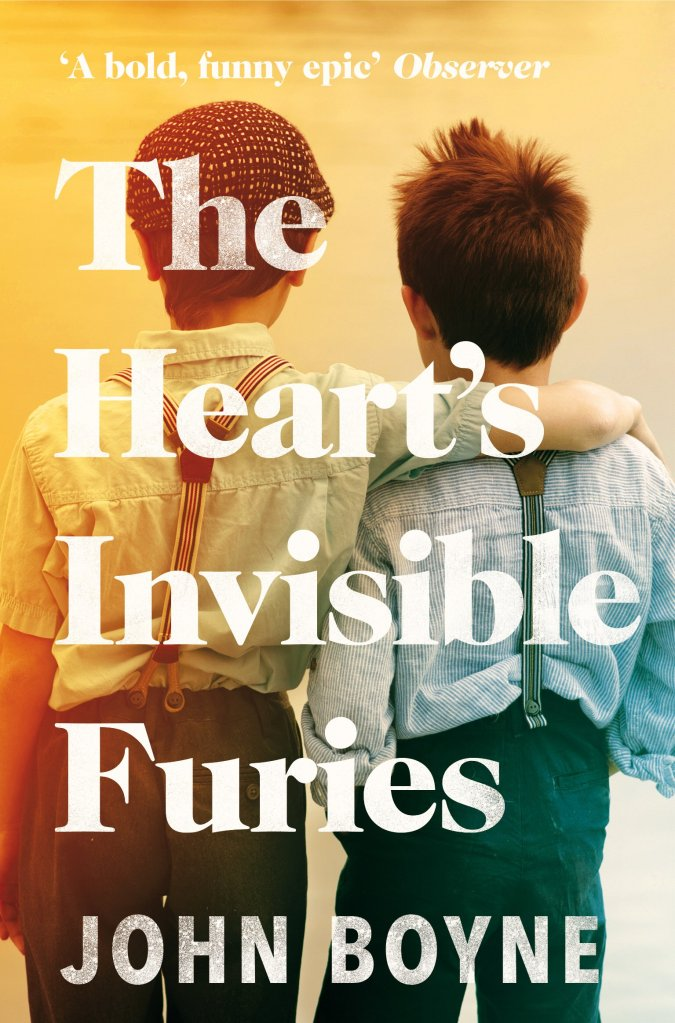 The Heart's Invisible furies by John Boyne (Book cover)